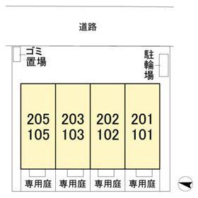 (賃貸)物件No.KS10093-101【千葉県佐倉市宮前3丁目 65000円/月】-間取図