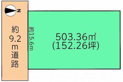物件No.15718【千葉県山武市木戸 580万円】-間取図