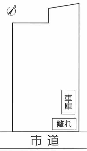 物件No.17042【千葉県大網白里市柳橋 1080万円】-間取図