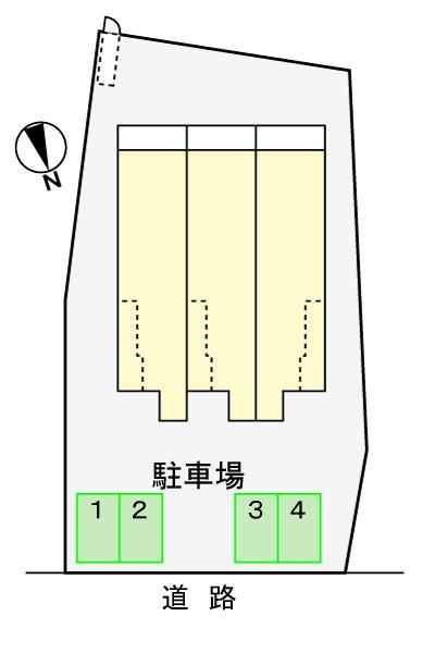 (賃貸)物件No.JS10143【千葉県佐倉市石川 56000円/月】-間取図
