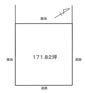 物件No.18285【千葉県長生郡白子町剃金 650万円】-間取図