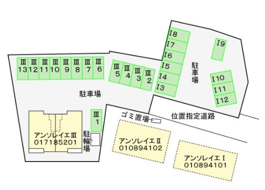 (賃貸)物件No.JS20206Ⅲ【千葉県佐倉市城775-3 68000円/月】-間取図