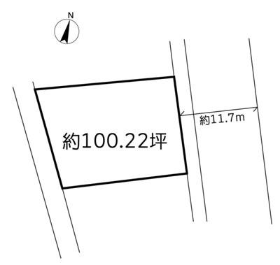 物件No.18754【千葉県香取市沢 450万円】-間取図