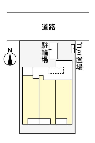 (賃貸)物件No.JS10154【千葉県佐倉市表町1-5-15 71000円/月】-間取図
