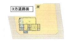 物件No.19195【千葉県長生郡白子町 1880万円】-間取図