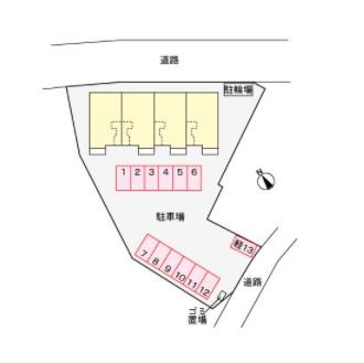 (賃貸)物件No.JS10163【千葉県佐倉市石川166-1 57000円/月】-間取図