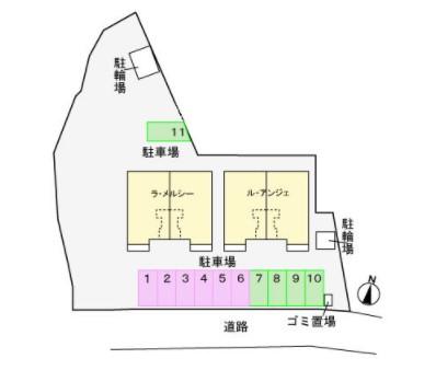 (賃貸)物件No.JS20226【千葉県佐倉市城713-3 67000円/月】-間取図
