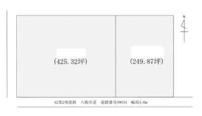 物件No.19682【千葉県八街市朝日 2100万円】-間取図