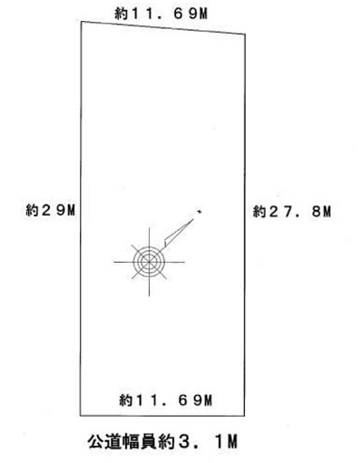 物件No.19601【千葉県八街市文違 550万円】-間取図