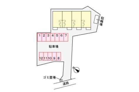 (賃貸)物件No.JS10166【千葉県佐倉市六崎964 76500円/月】-間取図