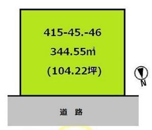 物件No.19894【千葉県東金市極楽寺 50万円】-間取図