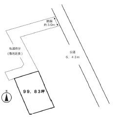物件No.19912【千葉県八街市八街ほ 550万円】-間取図