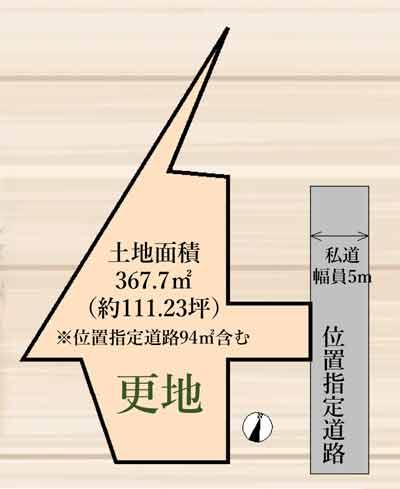 物件No.20020【千葉県佐倉市石川 1280万円】-間取図